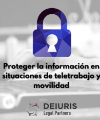 Protección datos en teletrabajo