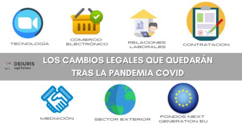 Los cambios legales que quedarán tras la pandemia COVID